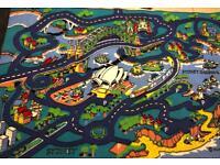 Play mat city rug huge!