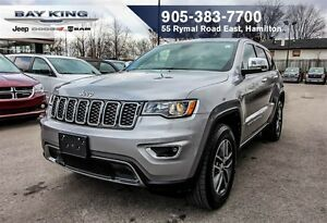 2017 Jeep Grand Cherokee LIMITED, 4X4, SUNROOF, REMOTE START, HT