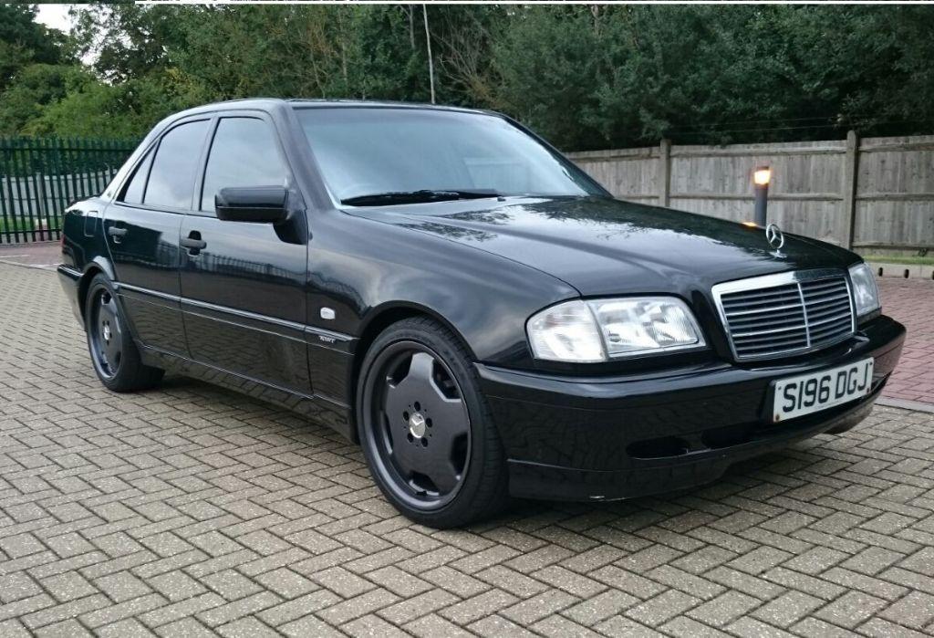 1999 Mercedes Benz C280 Sport Auto Black Saloon W202 2.8 ...