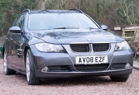 BMW 320D SE EDITION TOURING - Leather, FSH, Cruise Control, 2 Keys, 108,000 Miles