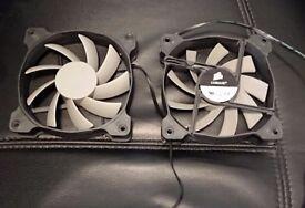 2x Corsair 120mm Cooling fans