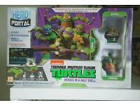 Teenage mutant ninja turtle game console
