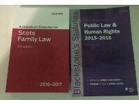 Selling two Scots law statute books