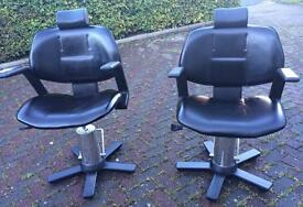 Barber/ beauty chairs
