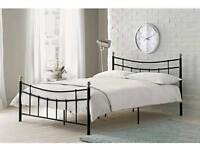 Darla Double Bed Frame - Black As new Condition