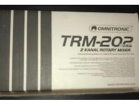 Omnitronic TRM mk2 Rotary Mixer. Rane. Urei.