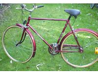MEN'S ASTRA CITY BIKE INCLUDING LIGHTS IN GREAT CONDITION!!!!