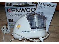 Kenwood Mini Chopper, brand new, boxed