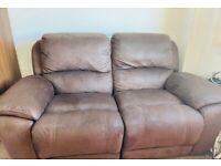 SUEDE Sofa *Bargain*