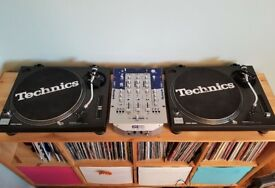 Technics SL-1210 Mk2 Direct Drive Turntables Pair DJ Decks (x2)