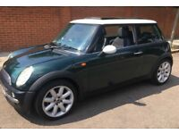 AUTOMATIC MINI COOPER LOW MILEAGE PANORAMIC ELECTRIC ROOF LEATHER TRIM AUTO MINI COOPER