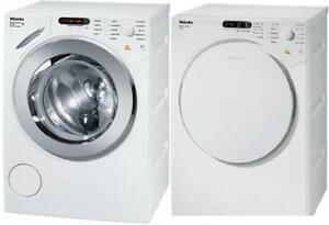 Miele W 1753 Front-loading washing machine and Dryer with Miele honeycomb drum for gentle treatment and care of fabrics