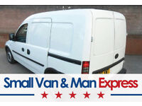 SMALL VAN & MAN from £10ph ★ Small Moves, Removals & Deliveries