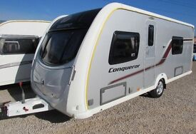SWIFT CONQUEROR 570 2013 **FIXED BED** 4 BERTH *REDUCED WAS..£13995*