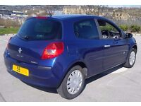 New Shape Renault Clio 1.5 Dci Long Mot £30 Tax Cheap Insurance 70mpg Ideal Small Run Around