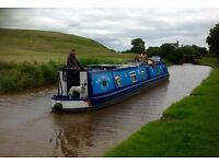 60ft All Steel 1990 Mike Heywood Narrowboat with new hull survey & recently blacked