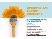 Art Taster Sessions Coming soon!