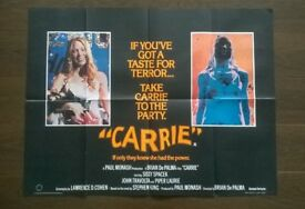 carrie ' original cinema poster