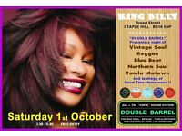 SATURDAY 1st OCTOBER - 60s 70s SOUL / REGGAE / MOTOWN / SKA with DOUBLE BARREL - STAPLE HILL