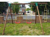 Children's heavy duty frame swing / play centre Brand new box / packed