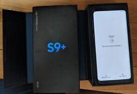 New Samsung galaxy s9+