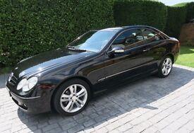 MERCEDES CLK200K Avantgarde Coupe 2009 AUTO extras Sat Nav, Bluetooth & Parking Sensors 52850 miles