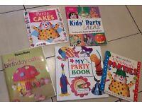 Children's Cake / Party Book Bundle £1.50
