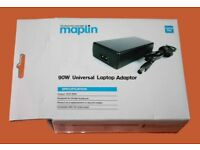 MAPLIN Universal Laptop Charger Adaptor, Auto Voltage Power Supply, 65W-90W. Brand New