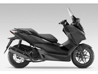HONDA FORZA 125, FSH, 6 MONTHS OLD, 1 OWNER