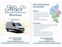 M&P Removals, Clearance and Rubbish Service Milton Keynes from just £17