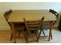 CHEAP TABLE WITH 4 STAIRS ONLY £20