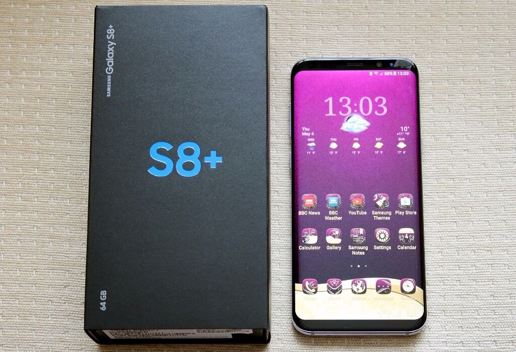 samsung s8 plus orchid grey unlocked and boxed as new in rochester kent gumtree. Black Bedroom Furniture Sets. Home Design Ideas