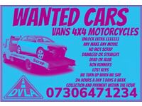 🇬🇧 Sell my car 4x4 van motorcycle any condition fast cash on collection scrap no mot damaged