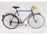 vintage Peugeot PX8 touring /racing bicycle