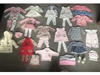 Baby girls clothes bundle (0-3 months )