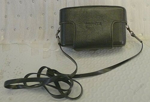 Minox 35 Leather Camera Case with Neck Strap - Made in GERMANY