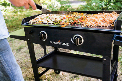 Flat Top Grill Blackstone Griddle Gas Pancake Camp Accessories Storage Big - Propane Camping Accessories