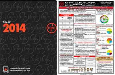 NFPA 70 : National Electrical Code (NEC) Paperback and Quick Card 2014 Ed New