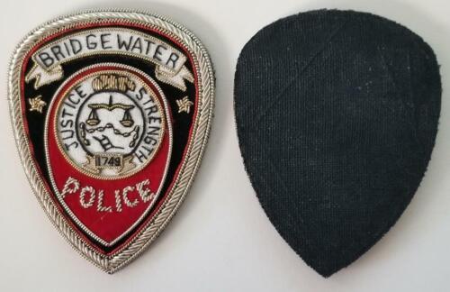 BRIDGEWATER NJ New Jersey Local POLICE Est 1749 BPD BULLION PATCH