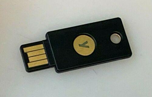 YUBICO Yubikey 5-A OTP+U2F+CCID Security USB Key NEW BULK PACKAGED