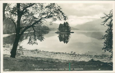 Loch Tay At Kenmore Real Photo  J.B White