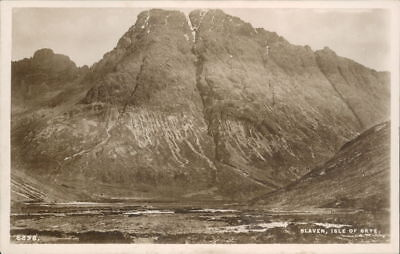 Isle Of Skye Blaven Isle Of Skye Real Photo J.B White