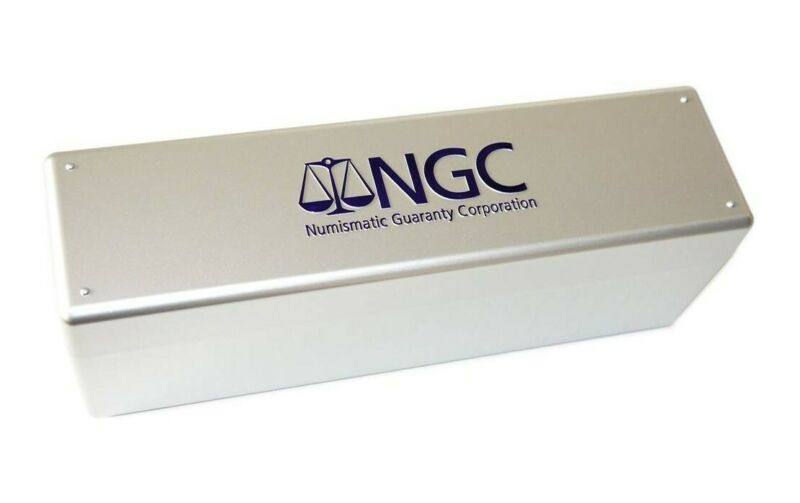 New NGC Silver Plastic Slab Box For 20 Certified Graded Coins Best Price Free Sh
