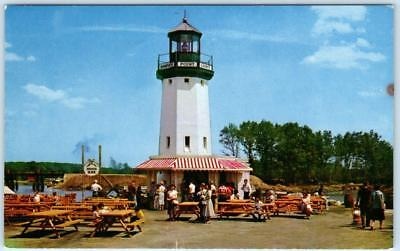 WAKEFIELD, Hawkes Point Light House , Pleasure Island, MA     c1950s  Postcard for sale  Foresthill