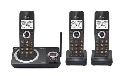 AT&T 3 Handset Answering System Cordless Phone w/ Smart Call Blocker CL82319 NEW