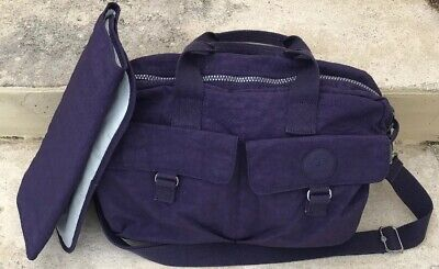 Kipling Baby Diaper Bag Berry Purple