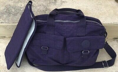 Kipling Baby Diaper Bag Berry Purple
