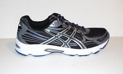 ASICS Gel Galaxy 5 Shoes 13 NIB Black Silver Blue Athletic Mens for sale  Shipping to Canada
