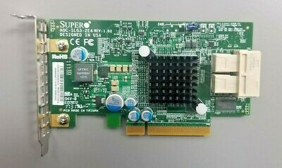 Supermicro AOC-SLG3-2E4R PCIe Add-On Card 6.4GB//s dual-Port Gen-3 NVMe Host Bus
