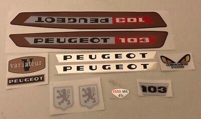 kit autocollant peugeot 103 vs